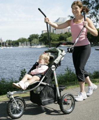 Upper Body Exerciser / Elliptical Trainer for Strollers