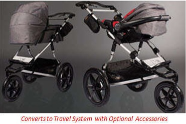 Mountain Buggy Terrain travel system