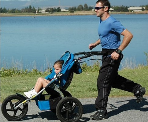 Stroll-Smart Hands Free Jogging Stroller Adaptor