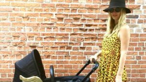 Nicky Hilton Takes Baby for Stroll in Luxury Stroller