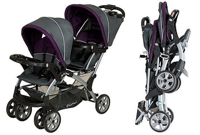 Baby Trend - Sit N Stand Plus (Tandem) Double Stroller