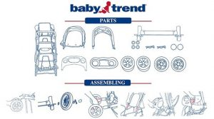 Baby Trend stroller parts