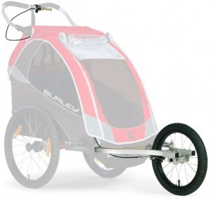 burley design bicycle trailer jogger stroller kit