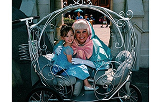 cinderella style stroller Disney world