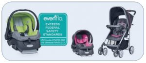 evenflo strollers