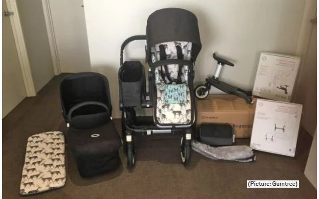 funny gumtree advert for pram mum