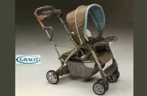 Graco Room For 2 Click Connect Stand & Ride Double Stroller