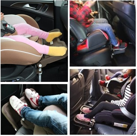 """buy [KneeGuardKids2] Car Seat Footrest, Booster Seat Footrest"""" style="""