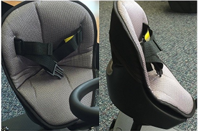 Mee-Go Sit N Ride Universal Buggy Ride On Board Padded Seat Liner