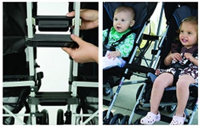 Prince Lionheart stroller connectors examples