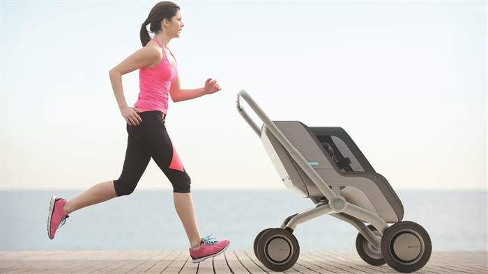 Smartbe intelligent, self-propelling stroller