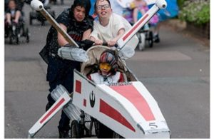 Star Wars themed pram wins best dressed prize in Pram Race