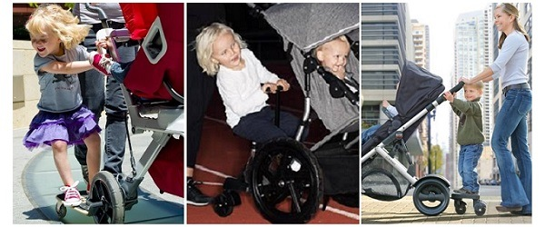 stroller ride-on board
