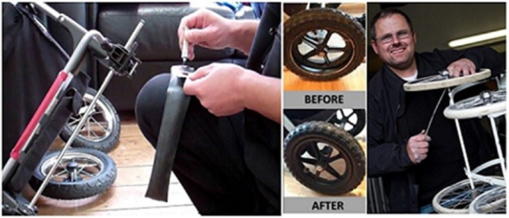Stroller/Pram cleaning & repair services