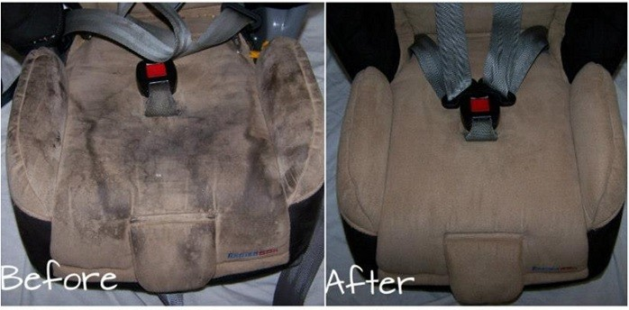 stroller seat cleaning