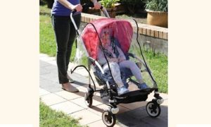 stroller weather shield / rain cover