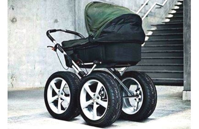 stroller wheels tires