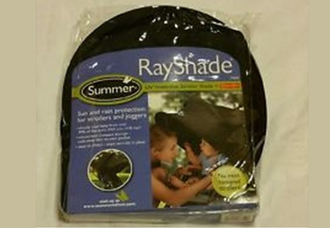 Summer Infant Rayshade stroller cover - plastic case