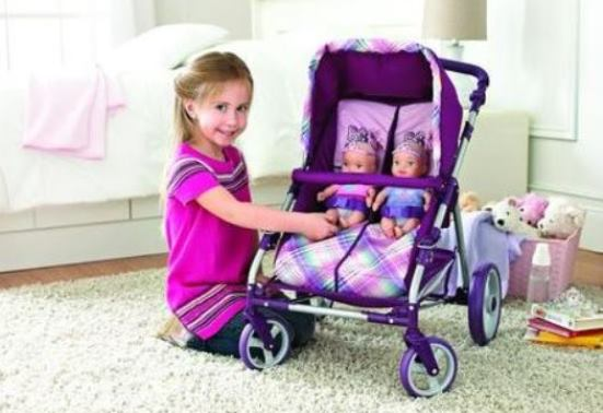 Double Stroller Toys Baby Dolls - The Best Toys for Kids
