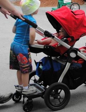 Baby Jogger Glider Board Review
