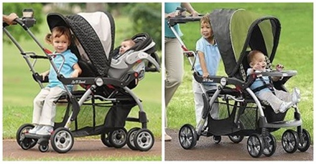 Tandem Sit And Stand Stroller Stroller Boards Parts Accessories