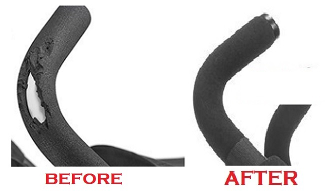 Stroller Bar Grips Foam Handle Replacement For Strollers
