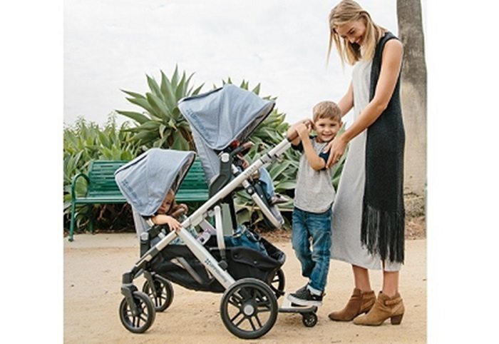 Uppababy Vista Baby Stroller Review Intuitive Design